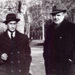 Krleza sa Pavlom Savicem 1948. - photo by Milan Pavic